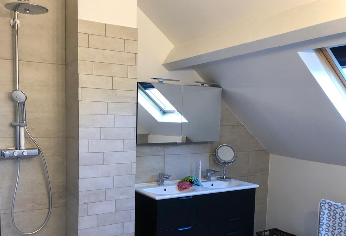 JDF RENOV : renovation appartement maison : Nous rénovons votre salle de bain du sol au plafond !