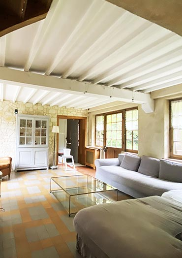 renovation peinture maison Saint Leger Yvelines 78